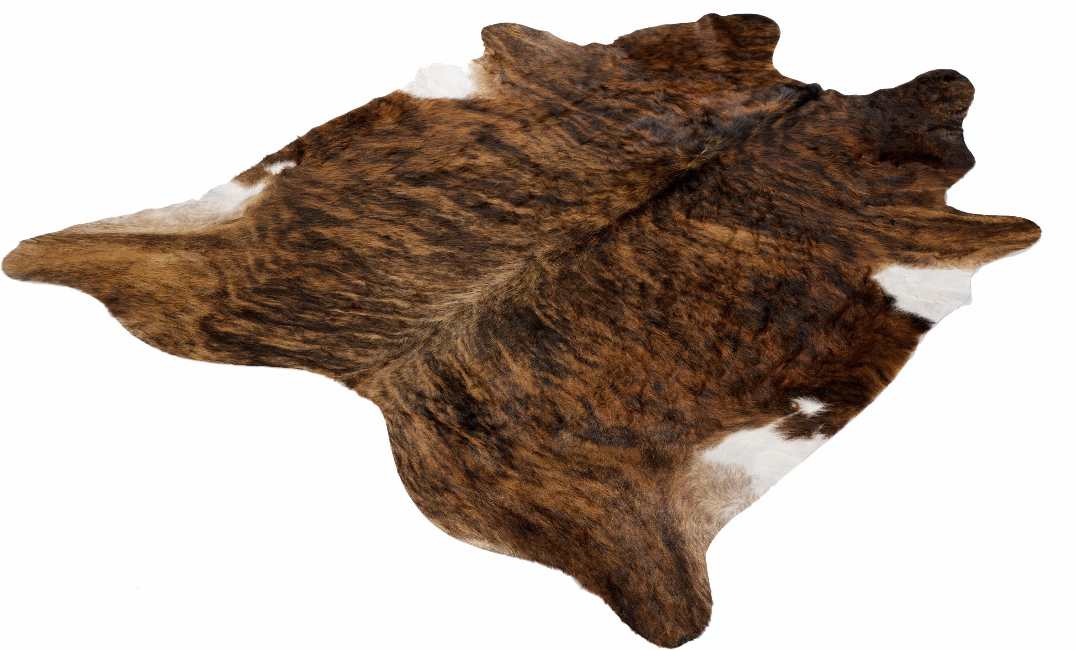 Fellteppich Fell Exot Böing Carpet fellförmig Höhe 4 mm