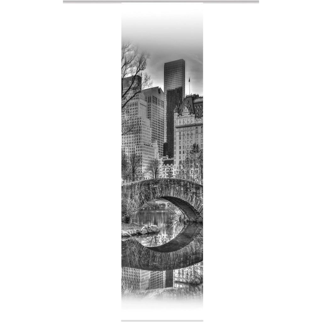 HOME WOHNIDEEN Schiebegardine »TEILA«, HxB: 245x60, Dekostoff Digitaldruck