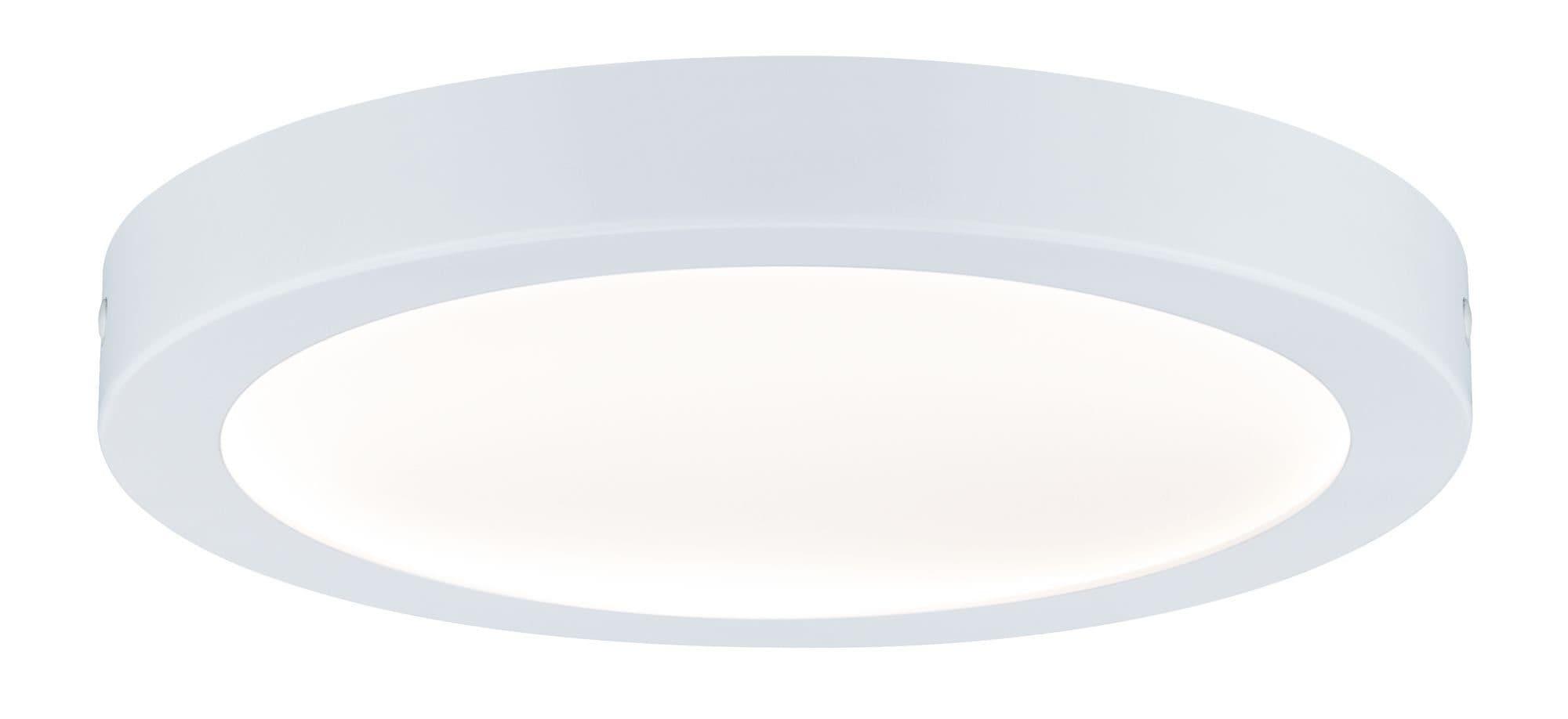 Paulmann,LED Deckenleuchte Abia Panel rund 22W Weiß Kunststoff