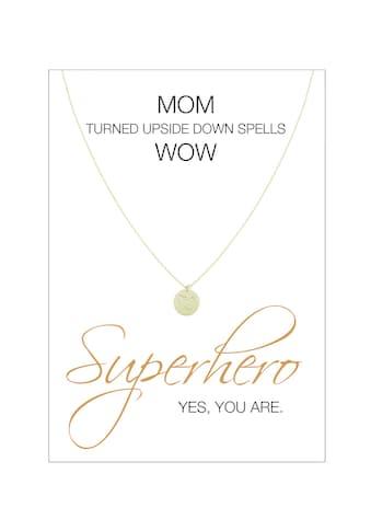 HERZ - KARTE Silberkette »Superhero« kaufen