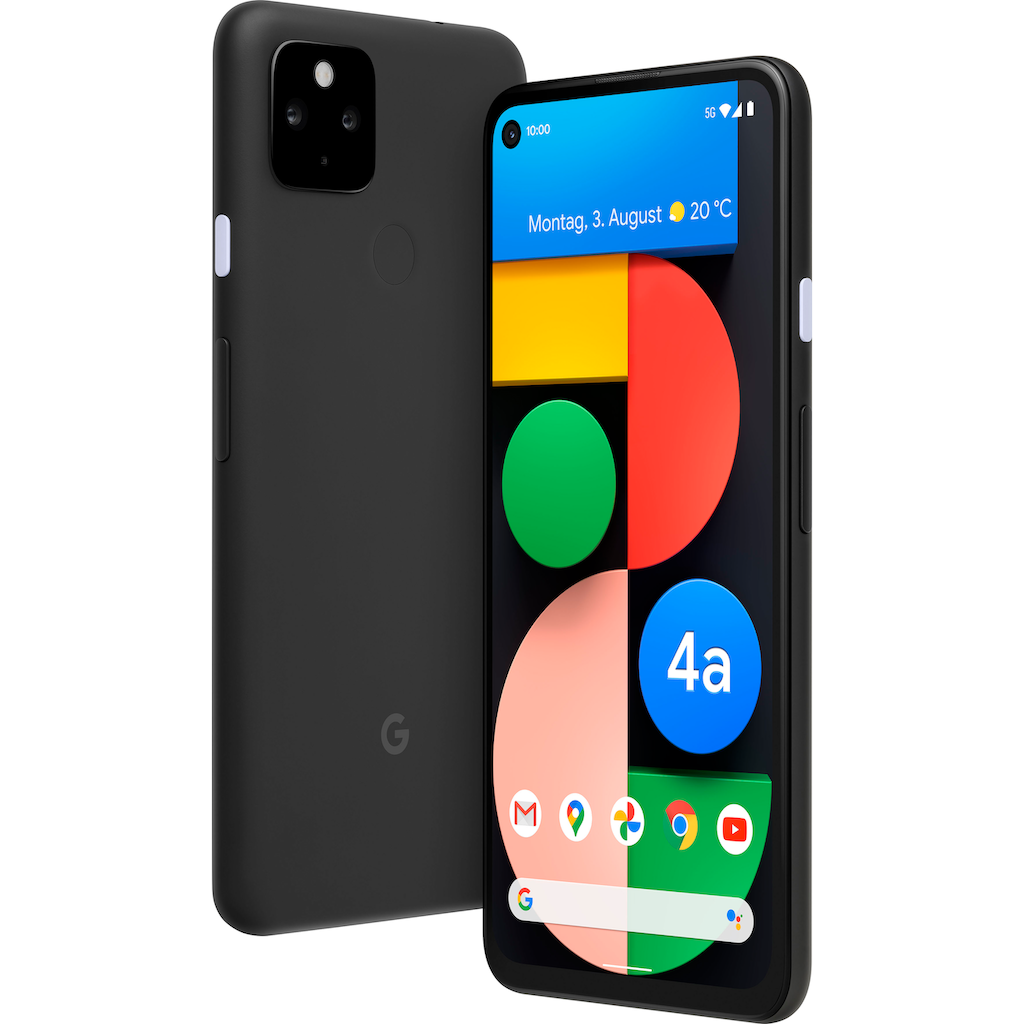 "Google Smartphone »Pixel 4a (5G)«, (15,8 cm/6,2 "" 128 GB Speicherplatz, 12 MP Kamera)"