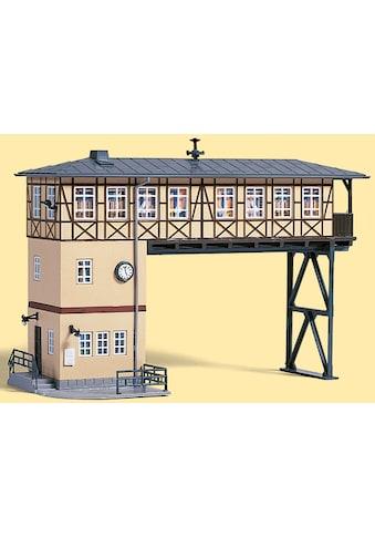 Auhagen Modelleisenbahn-Gebäude »Brückenstellwerk«, Made in Germany kaufen