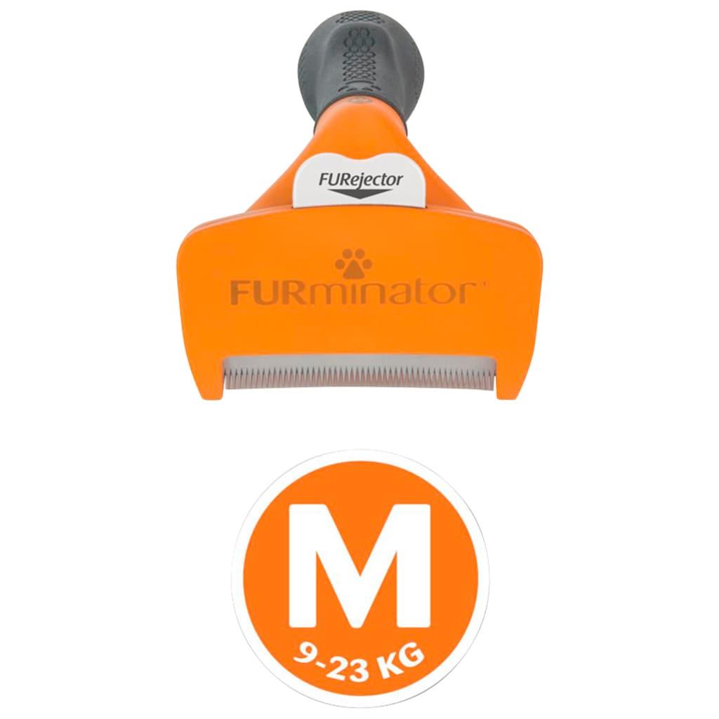 FURminator Fellbürste »M«, Metall, Langhaarpflege für mittelgroße Hunde