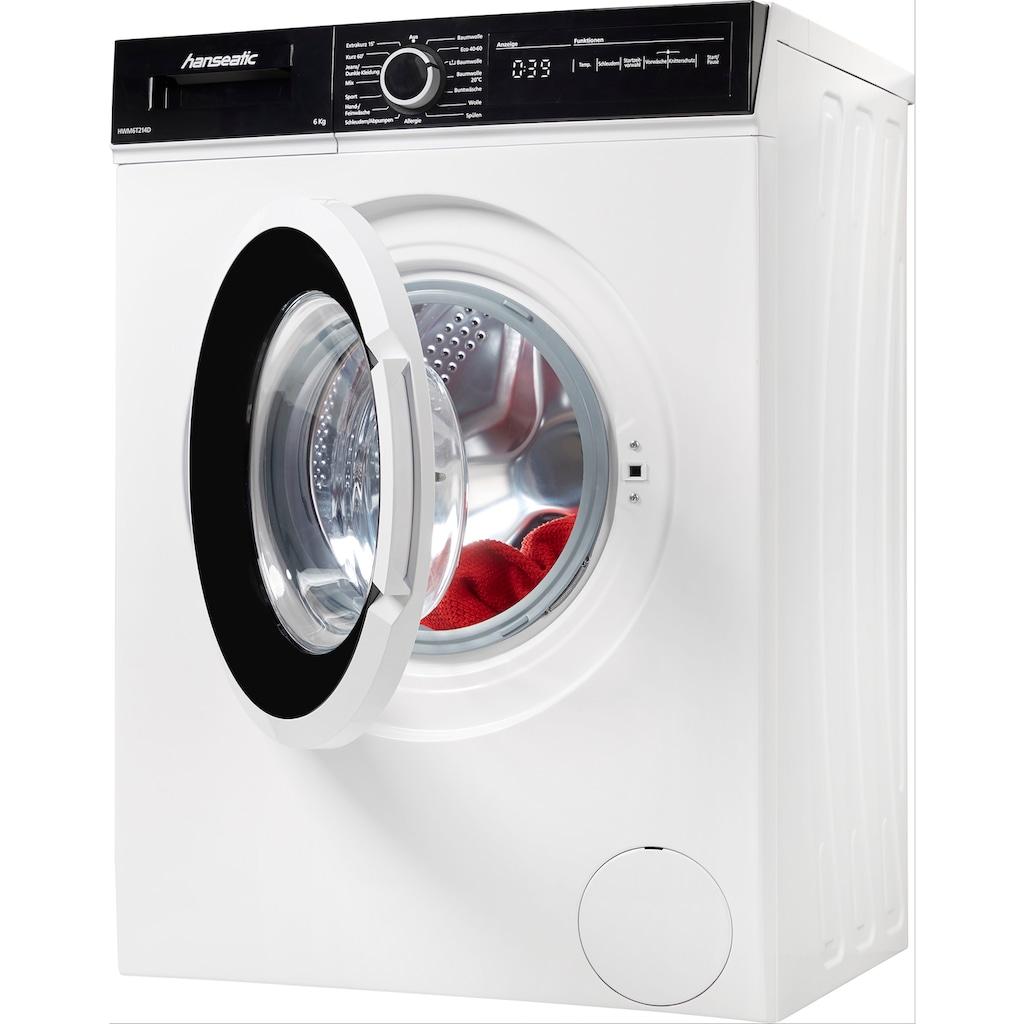 Hanseatic Waschmaschine, HWM6T214D