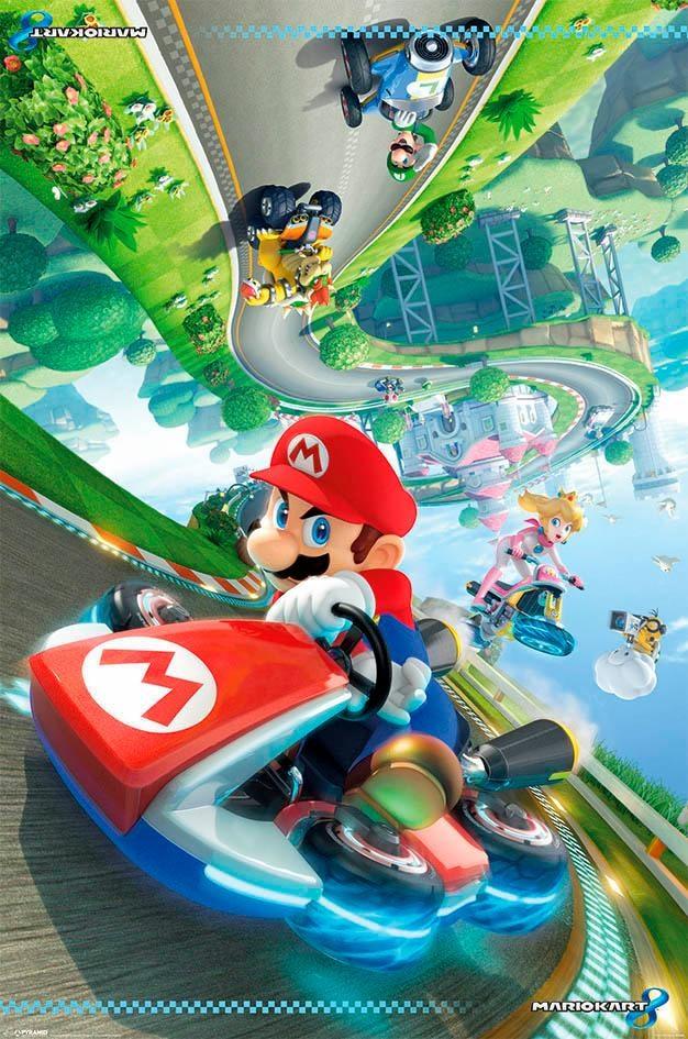 Deco-Panel »Mario Kart 8« | Dekoration > Bilder und Rahmen > Bilder | Bunt | Mdf