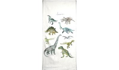 """Handtuch """"Dinosaurs"""", Juniqe kaufen"""