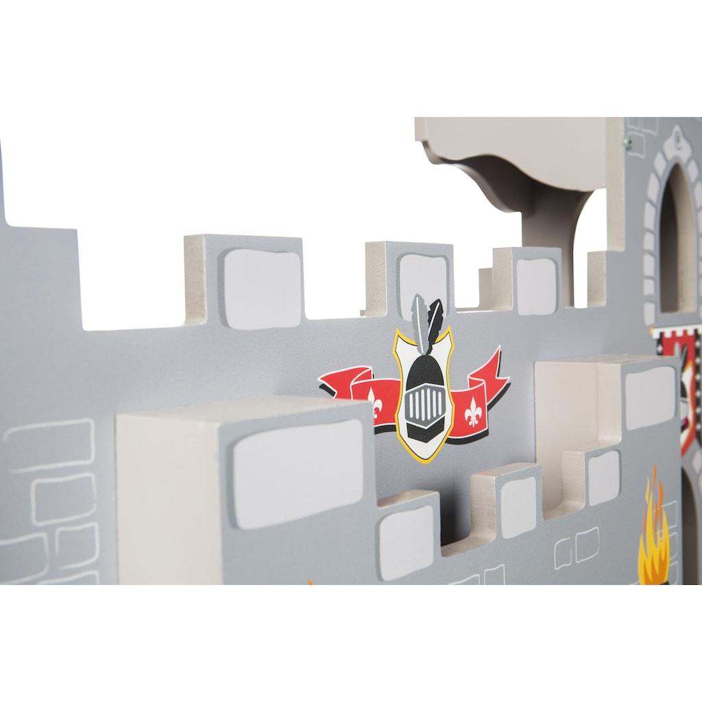 roba® Spielwelt »Ritterburg 3 in 1«, mit Spielunterlage