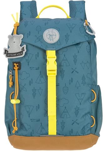 LÄSSIG Kinderrucksack »Adventure, blue, Mini Backpack«, Reflektoren, inkl.... kaufen