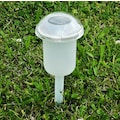 JOKA OUTDOOR Außen-Tischleuchte »Charme«, 6 St., 6er Set Solarleuchten, mit Erdspieß oder als Tischlampen nutzbar, Farbwechsel, getrennte Schaltung von Ring und Basis