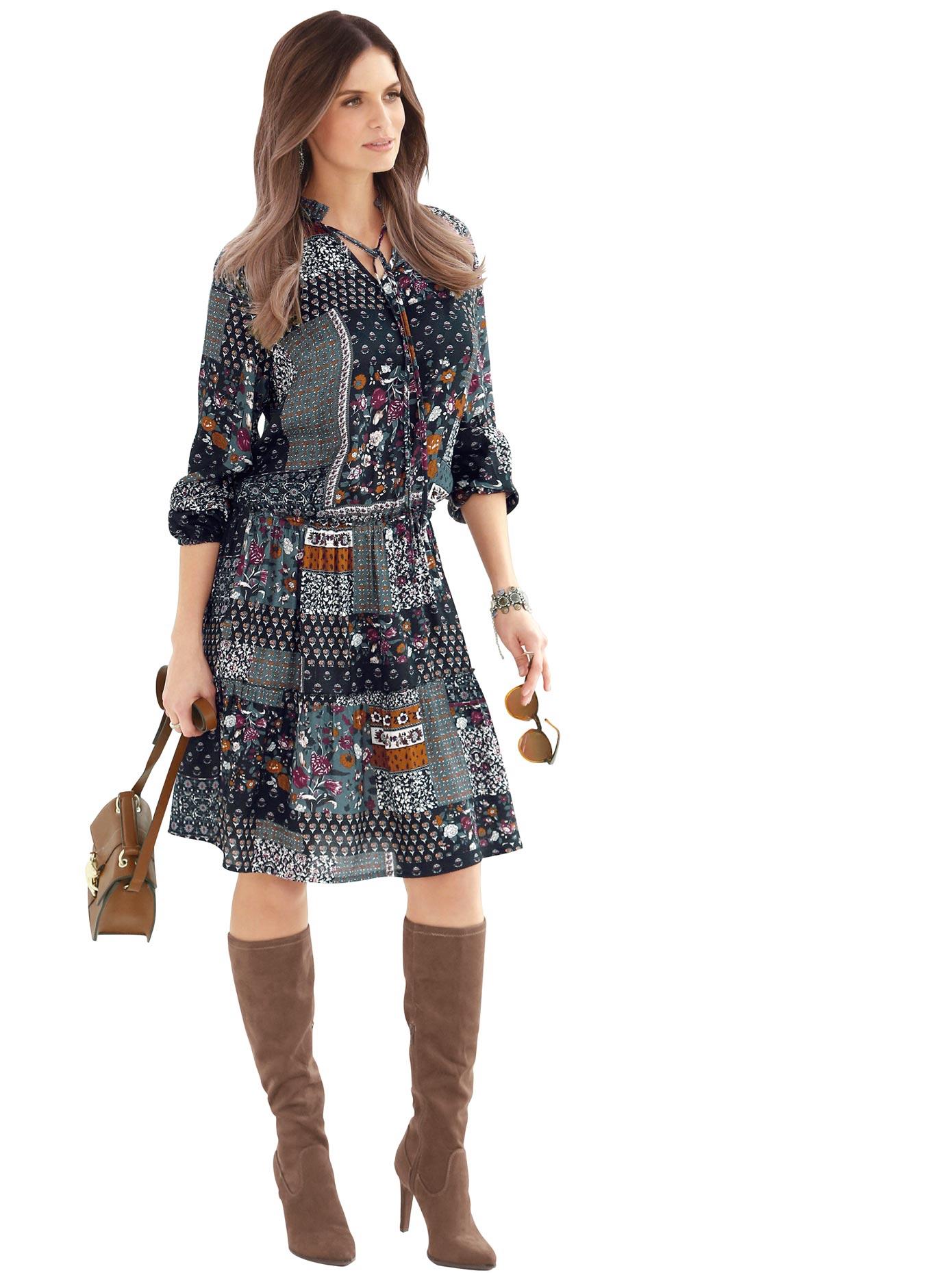 Alessa W Kleid aus reiner Viskose