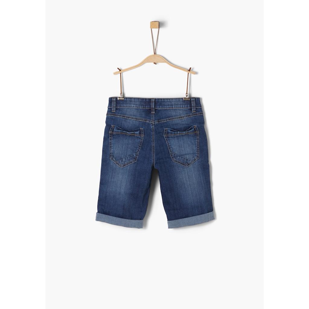 s.Oliver Denim-Shorts_für Jungen