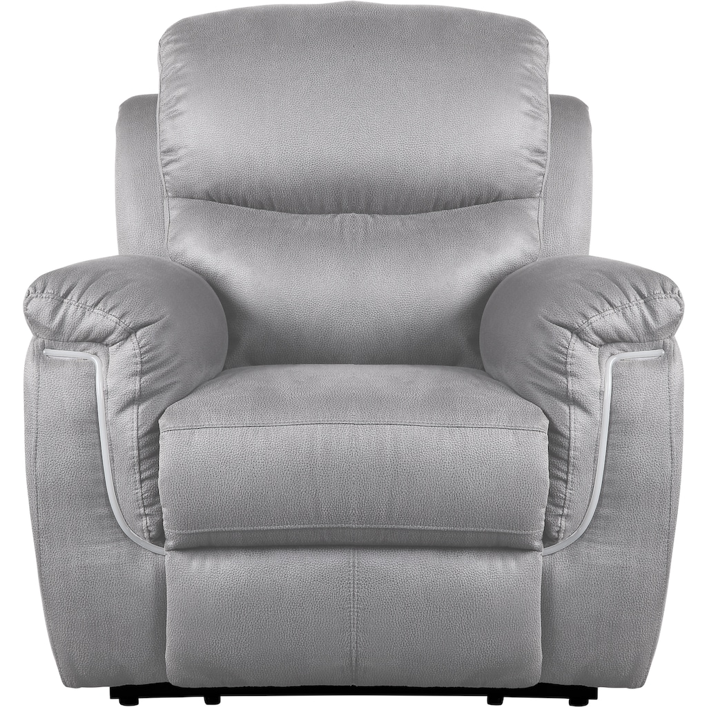 ATLANTIC home collection Relaxsessel, inklusive Relaxfunktion