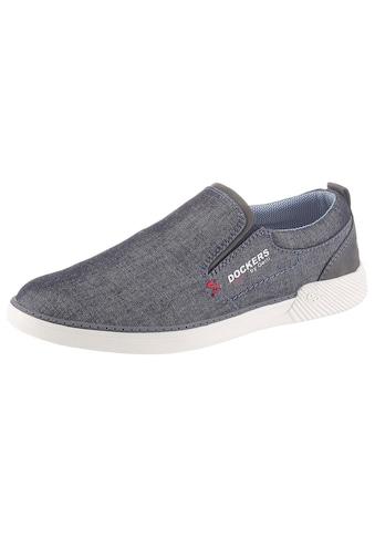 Dockers by Gerli Slip-On Sneaker, mit seitlichen Stretcheinsätzen kaufen