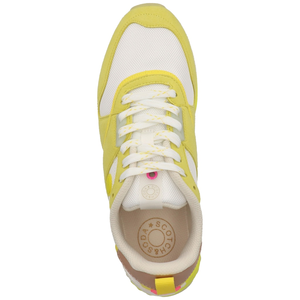 Scotch & Soda Sneaker »Lederimitat/Mesh«