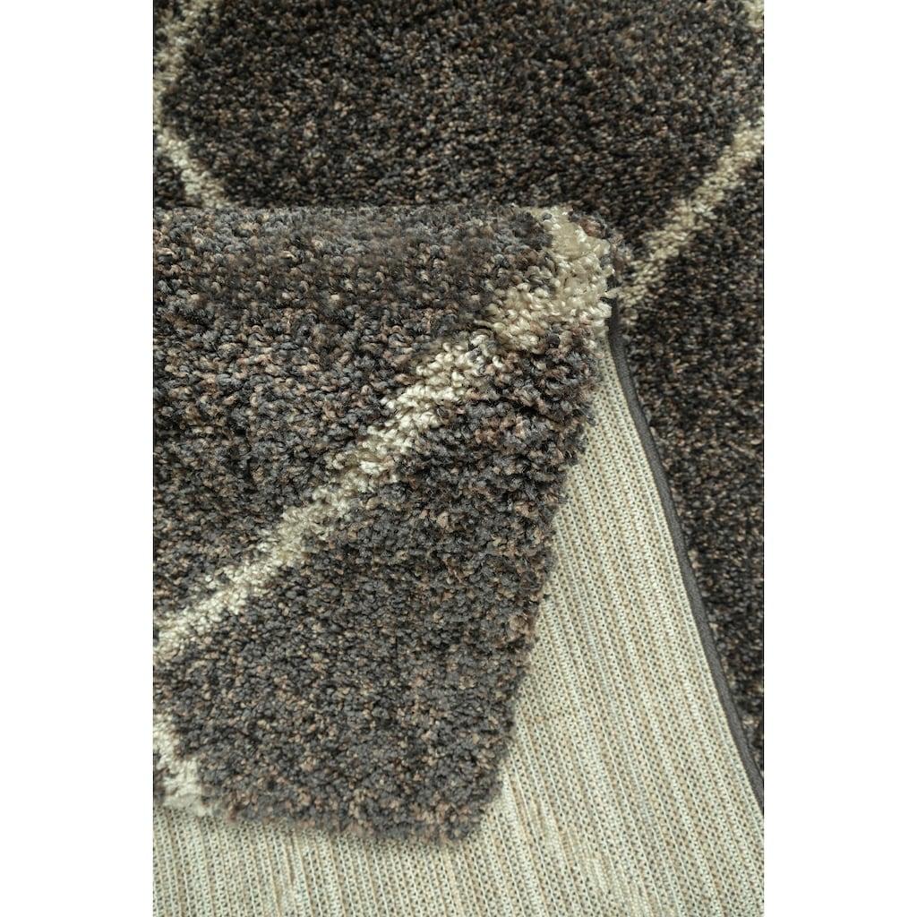 andas Hochflor-Teppich »Hunter«, rechteckig, 40 mm Höhe, dichter, weicher Flor, Wohnzimmer