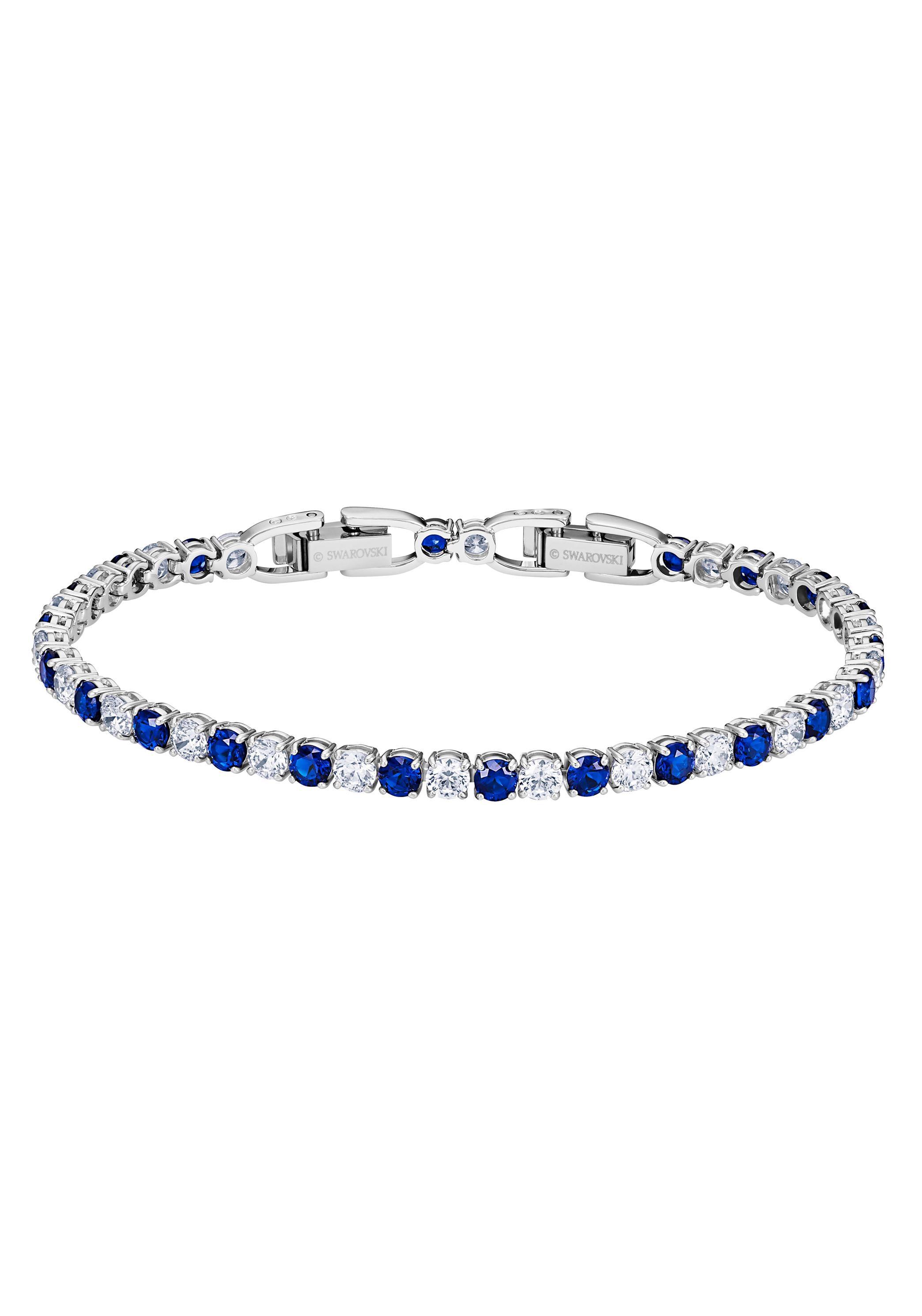 Swarovski Tennisarmband DLX MIX M 5506253 | Schmuck > Armbänder > Tennisarmbänder | Blau | Swarovski