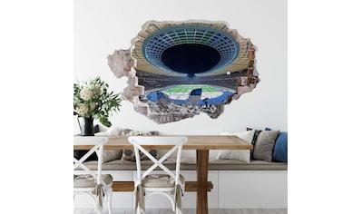 Wall-Art Wandtattoo »Hertha Stadion bei Nacht« kaufen
