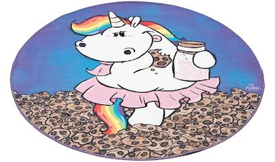 Kinderteppich, »Pummelfee Kekse«, Pummel & Friends, rund, Höhe 4 mm, gedruckt kaufen