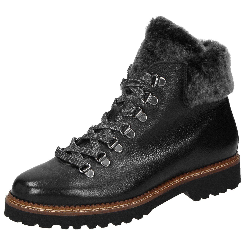 SIOUX Schnürstiefelette Verica-WF | Schuhe > Stiefel > Schnürstiefel | Schwarz | Sioux