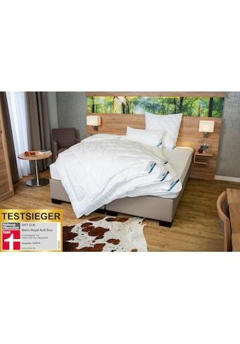 Beco Microfaserbettdecke »Royal Soft Duo«, leicht, (1 St.), Stiftung Warentest-Testsieger Duo-Steppbett 135x200, warm kaufen
