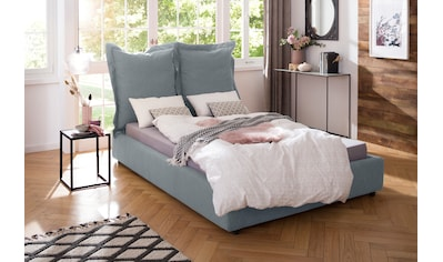 Home affaire Polsterbett »Lodano«, in Hussen-Optik und besonderem Design kaufen