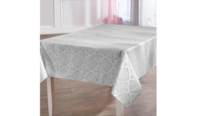 Delindo Lifestyle Tischdecke »TORONTO«, Fleckabweisend, pflegeleicht, 150 g/m² kaufen