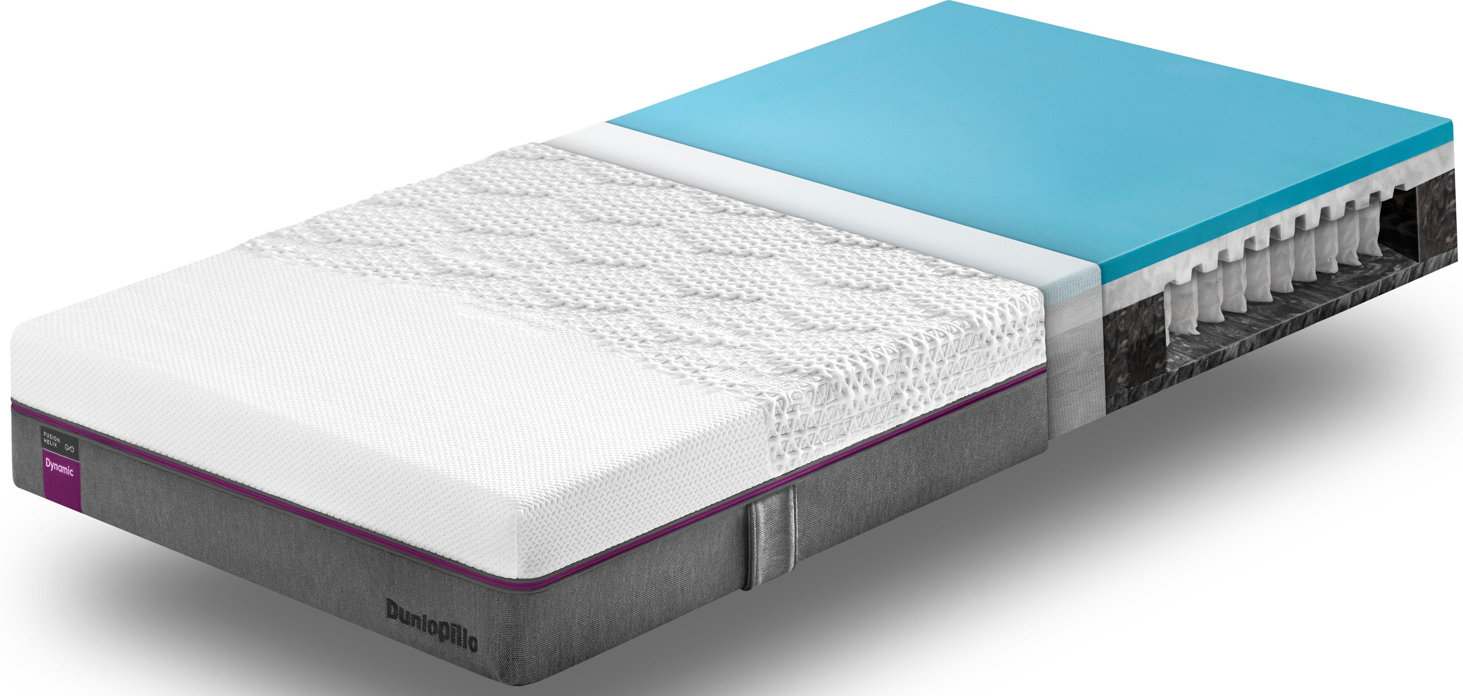 Taschenfederkernmatratze Fusion Helix Dynamic Dunlopillo better sleep 23 cm hoch