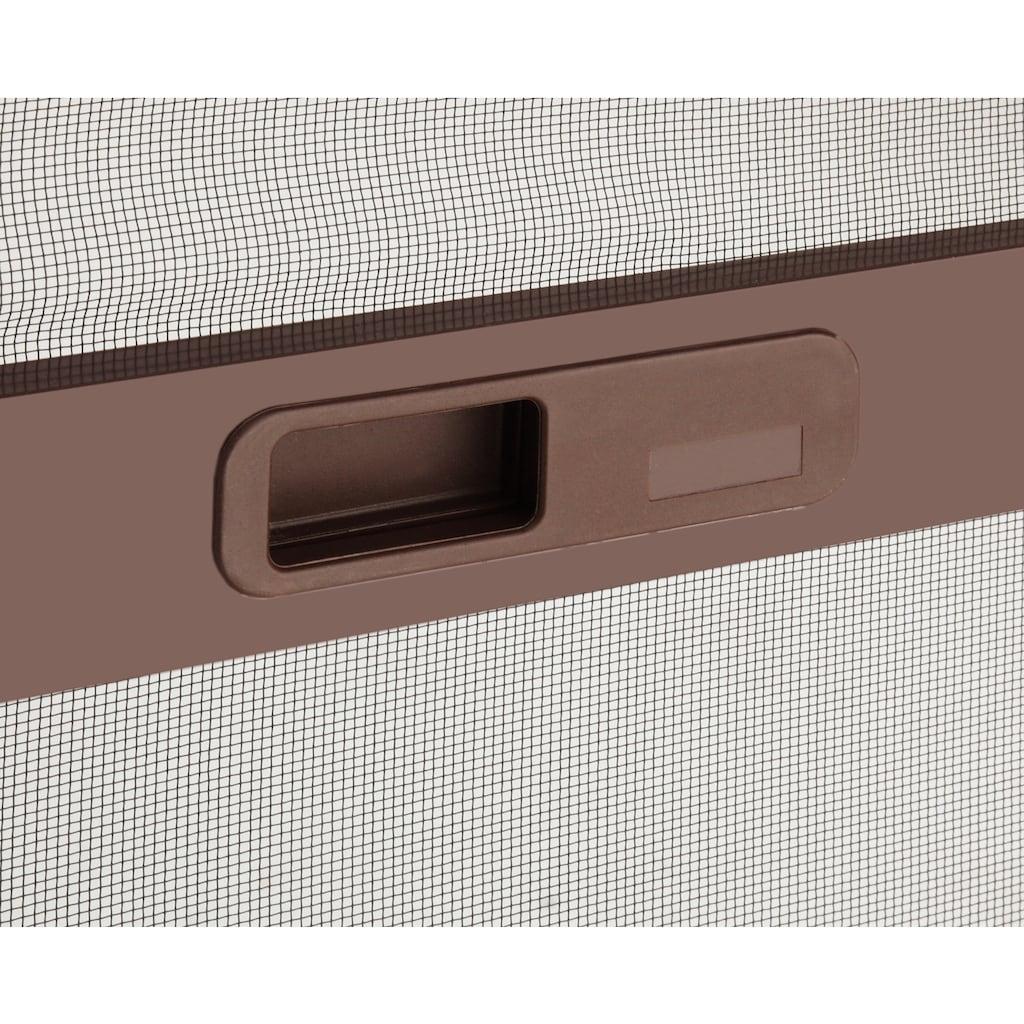 hecht international Insektenschutz-Tür »COMFORT«, braun/anthrazit, BxH: 240x240 cm