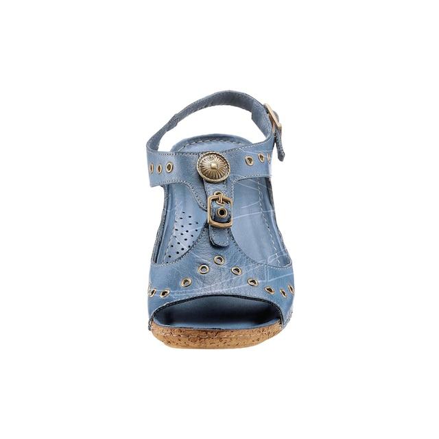 Gemini Sandalette mit Ziernieten und Zierknöpfen