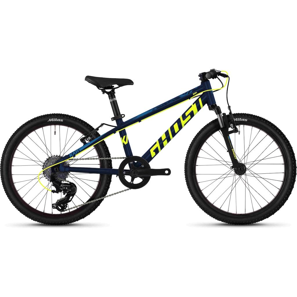 Ghost Mountainbike »Kato 2.0 AL U«, 8 Gang, Shimano, Tourney TX RD-TX800 8-S Schaltwerk, Kettenschaltung, MIDDLE