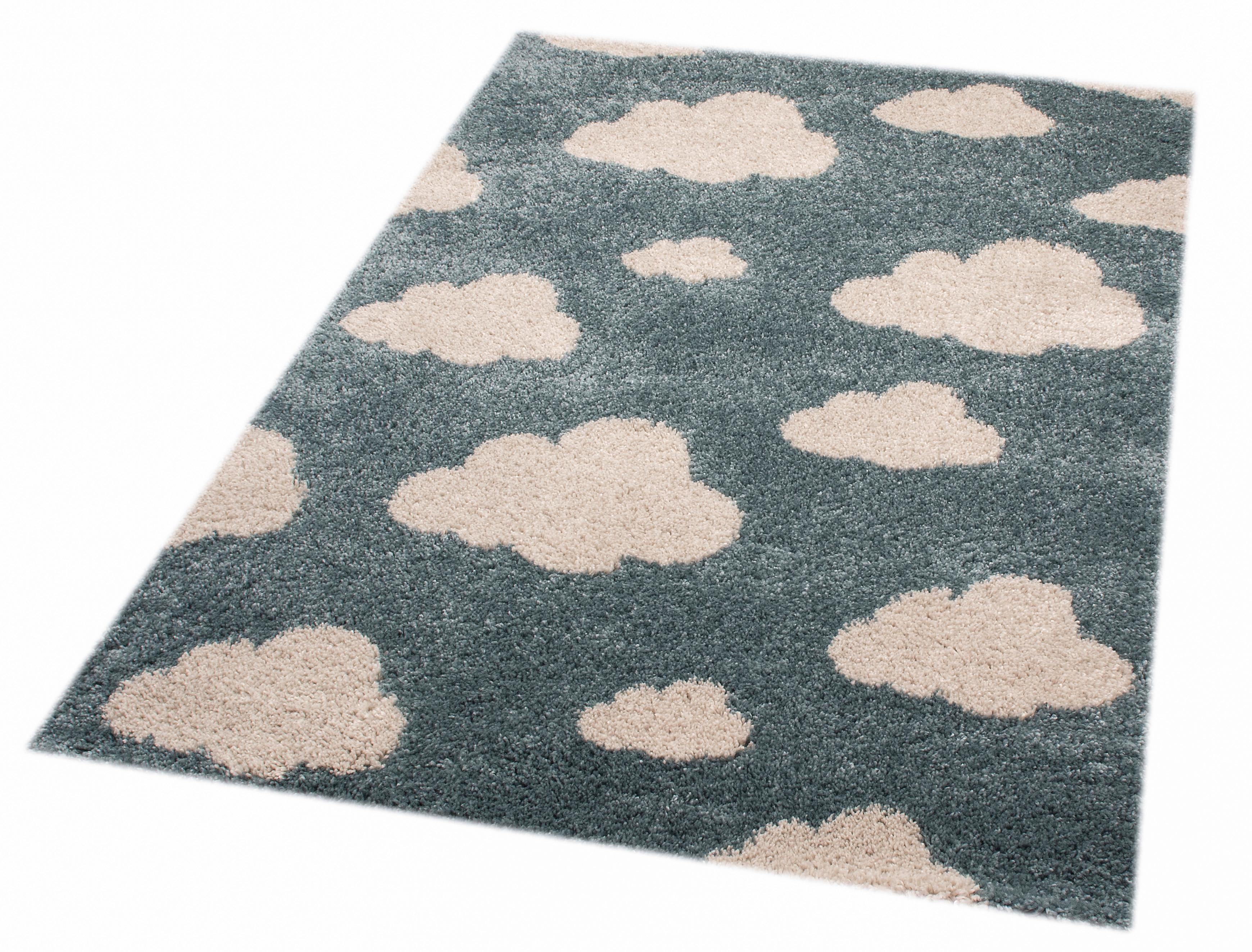 Hochflor-Teppich Clouds Louis Zala Living rechteckig Höhe 35 mm maschinell gewebt