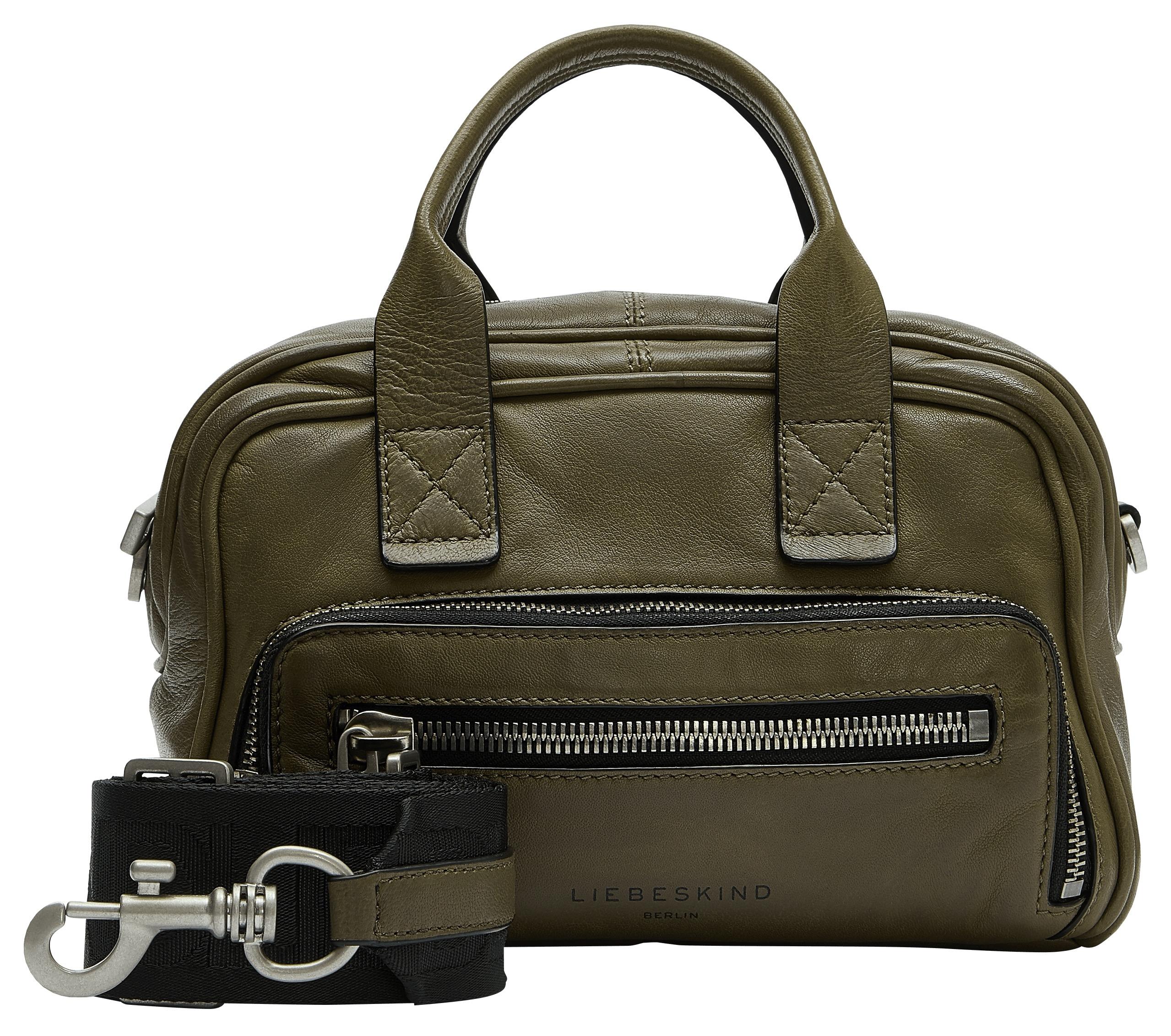 liebeskind berlin -  Mini Bag Rachel Satchel XS, mit kontrastfarbigen Kanten
