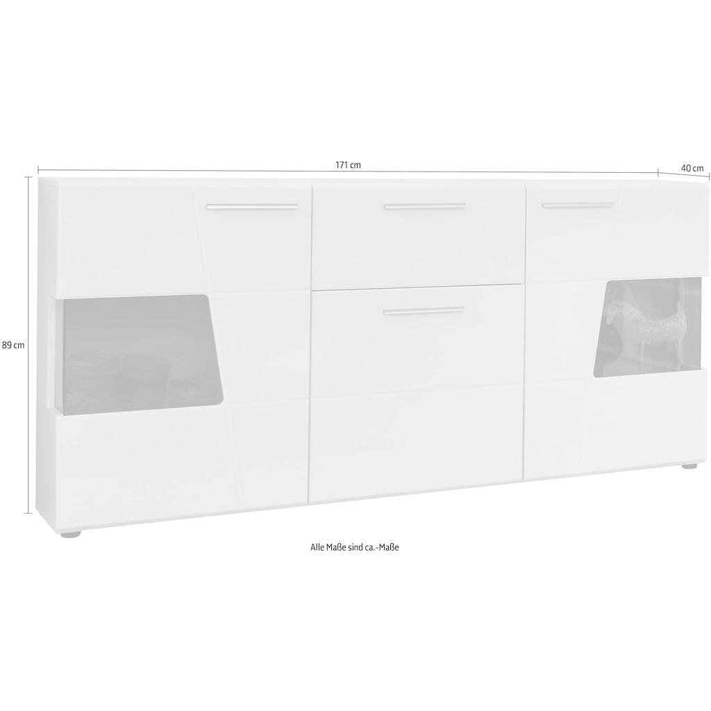 trendteam Sideboard »Move«, mit 3 Türen und 1 Schublade