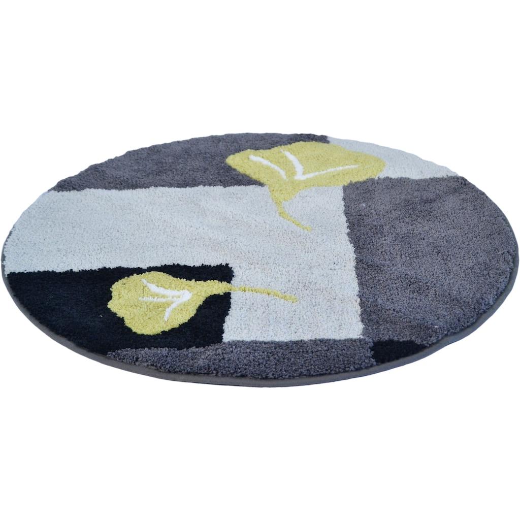 KiNZLER Badematte »Geel«, Höhe 20 mm, rutschhemmend beschichtet, fußbodenheizungsgeeignet