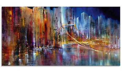 Artland Glasbild »Stadtansicht I«, Amerika, (1 St.) kaufen