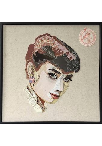 Kayoom Wandbild »Actress«, 52cm x 52cm kaufen