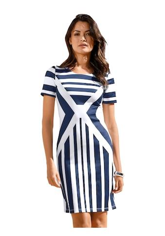 Amy Vermont Jerseykleid, in Streifen-Dessin kaufen