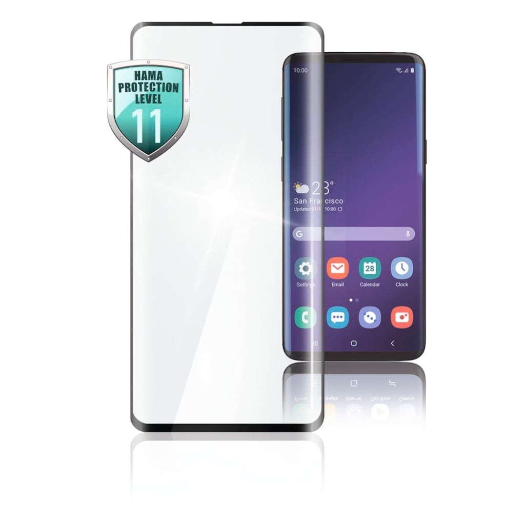 Hama 3D-Full-Screen-Schutzglas für Samsung Galaxy Note 10