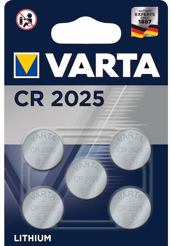 VARTA Knopfzelle »VARTA Professional Lithium Knopfzelle Spezial Batterie«, CR2025, 3... kaufen