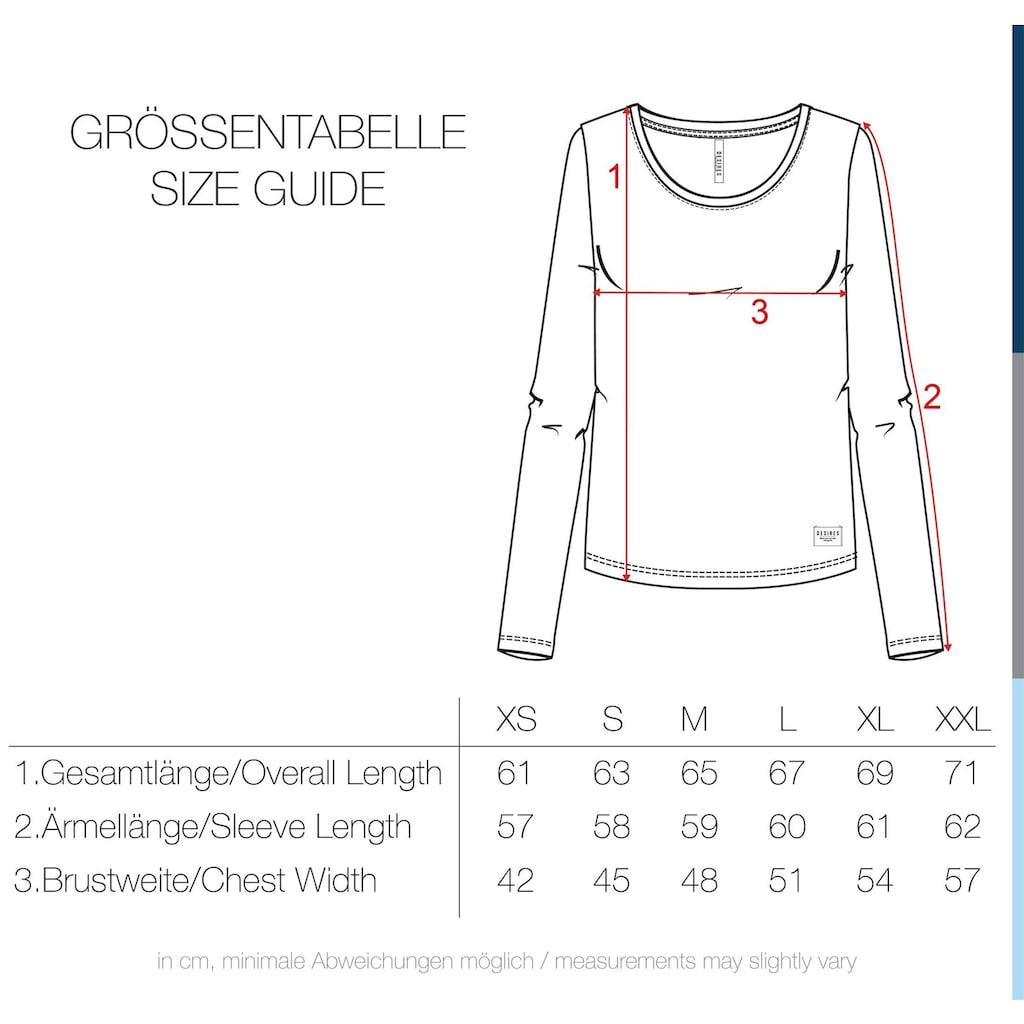 DESIRES Langarmshirt »Mila«, Langarmshirt mit Streifen
