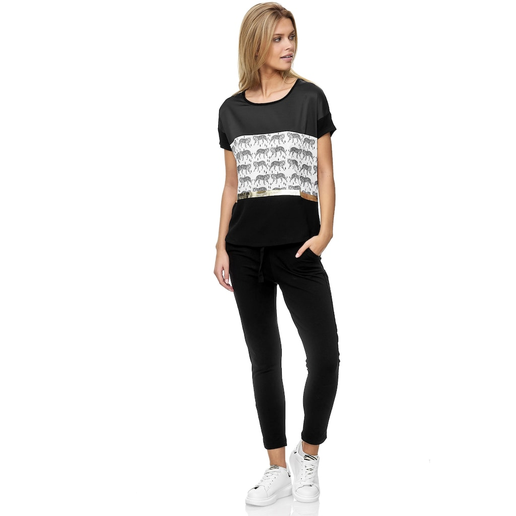 Decay T-Shirt, mit Animal - Muster 3678936