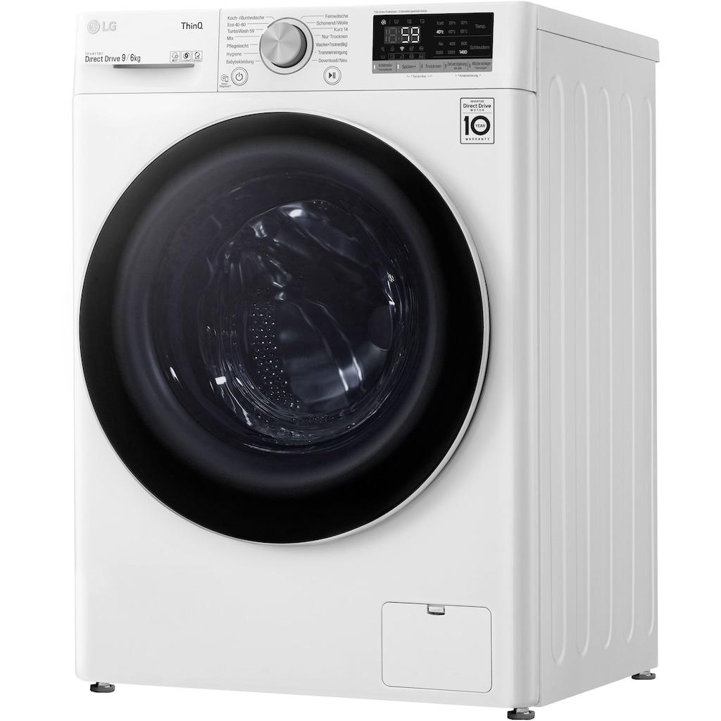 LG Waschtrockner »V5WD96TW0«
