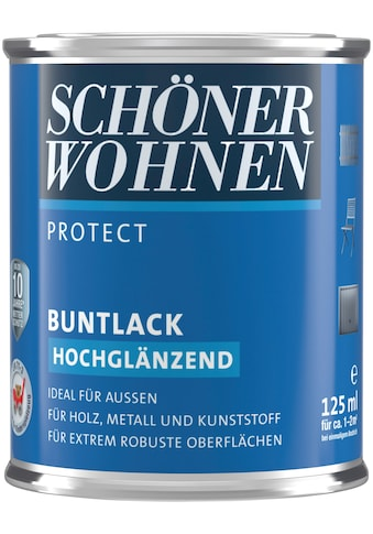 SCHÖNER WOHNEN-Kollektion Lack »Protect«, hochglänzend, 125 ml, naturgrau kaufen