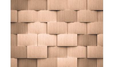 LIVINGWALLS Fototapete »Designwalls Alu Pattern 2«, Premium Vlies kaufen