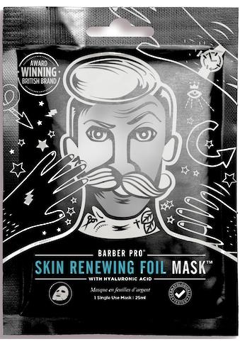 BARBER PRO Gesichtsmaske »RENEWING FOIL MASK™«, Thermo-Folienmaske mit Kollagen, Hyaluron und Q10 kaufen