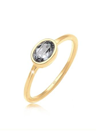 Elli Verlobungsring »mit Kristalle Ovalem Design 925 Silber« kaufen
