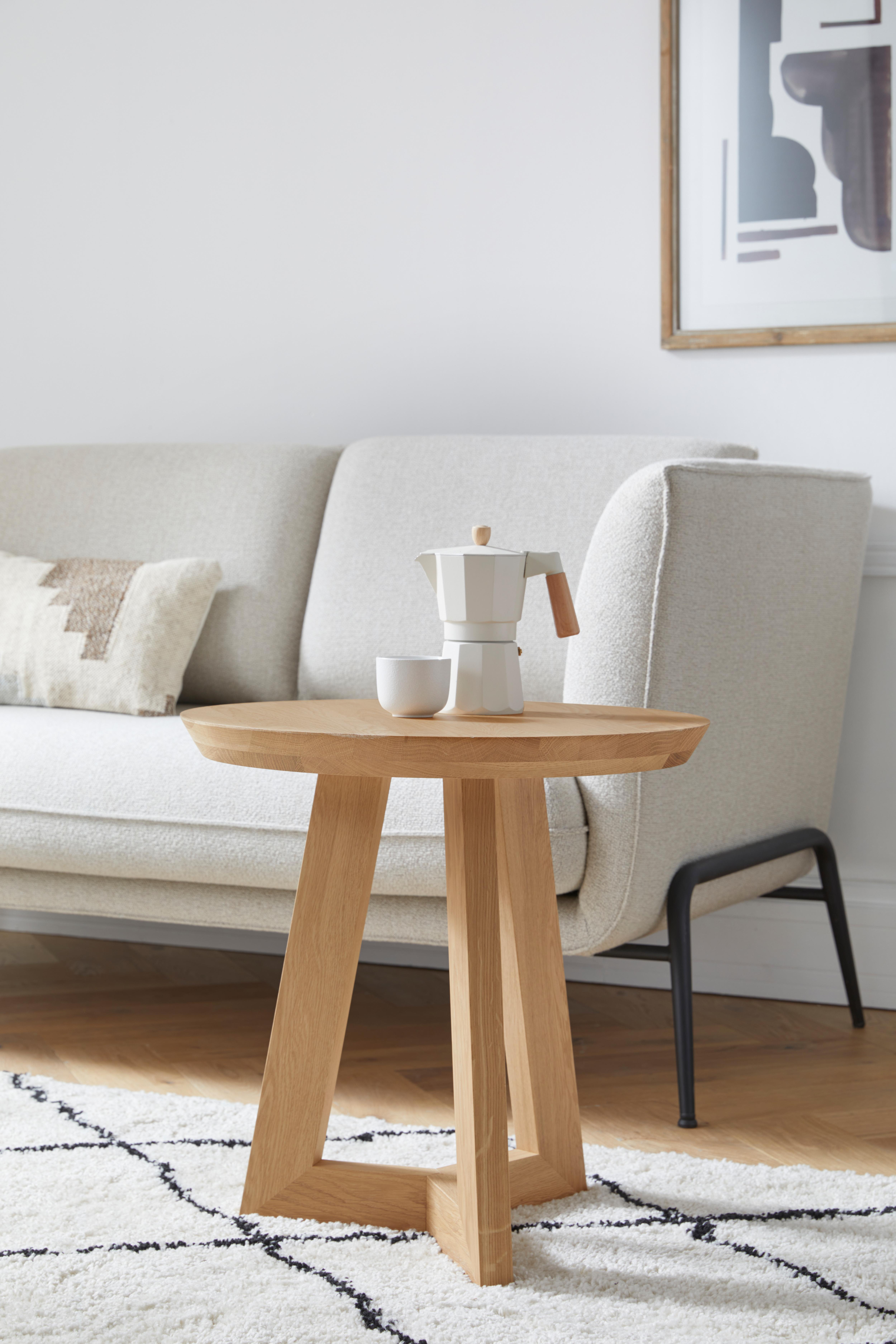 andas Beistelltisch Tonje, Design by Morten Georgsen beige Beistelltische Tische