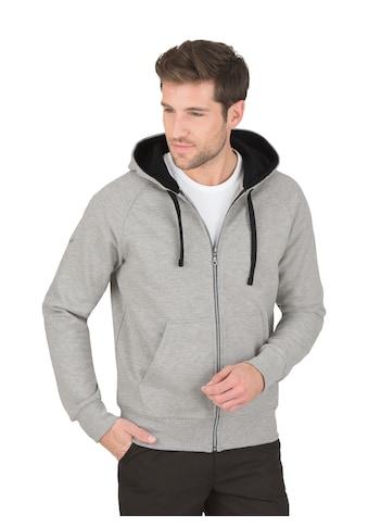 Trigema Sweatjacke mit Kapuze kaufen