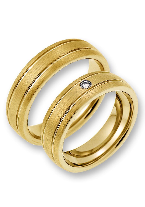 CORE by Schumann Design Partnerring TW02507/19104780 TW02506/19104745   Schmuck > Ringe > Partnerringe   Goldfarben   Core By Schumann Design