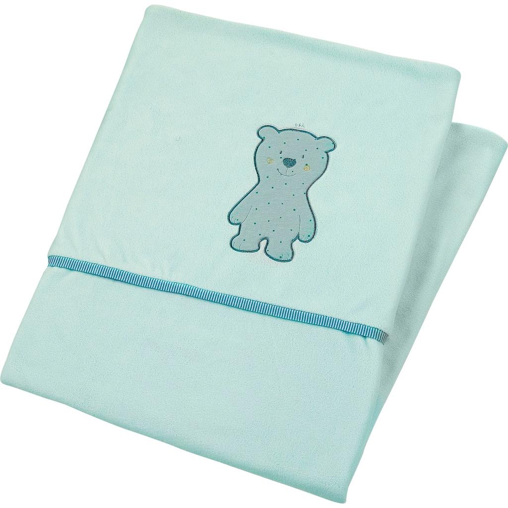 Sterntaler® Babydecke »Ben«, aus weichem Microfleece
